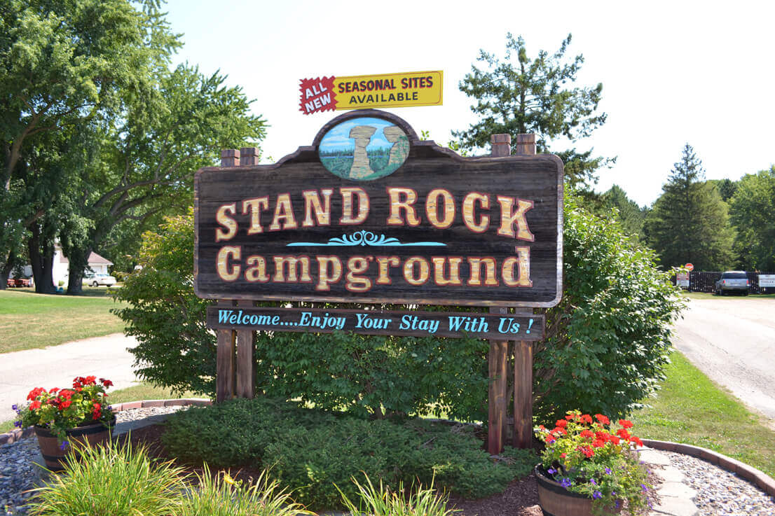 Amenities Amp Recreation Of The Stand Rock Campground In